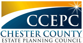 Logo Recognizing David M. Frees III's affiliation with Chester County Estate Planning Council