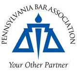 Logo Recognizing David M. Frees III's affiliation with Pennsylvania Bar Association